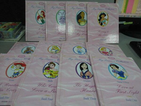 【書寶二手書T1/少年童書_ODO】PrincessStoryLibrary_12本合售