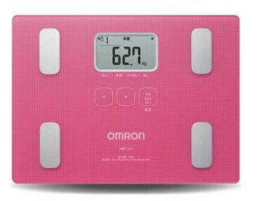 OMRON歐姆龍體脂肪機 HBF-216(粉紅色),限量加贈歐姆龍運動毛巾及專用提袋