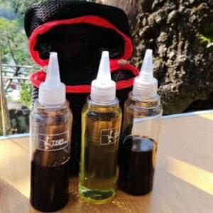 美麗大街【106012503】高品質戶外調味瓶七件組 油瓶 醬油瓶 調味罐 收納組 露營 廚房調味
