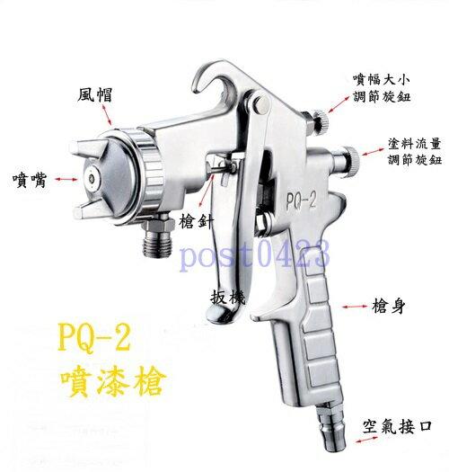 【小工人】精工PQ-2油漆噴槍噴漆槍下壺式1000cc 氣動噴塗噴霧器 塗料氣動噴槍