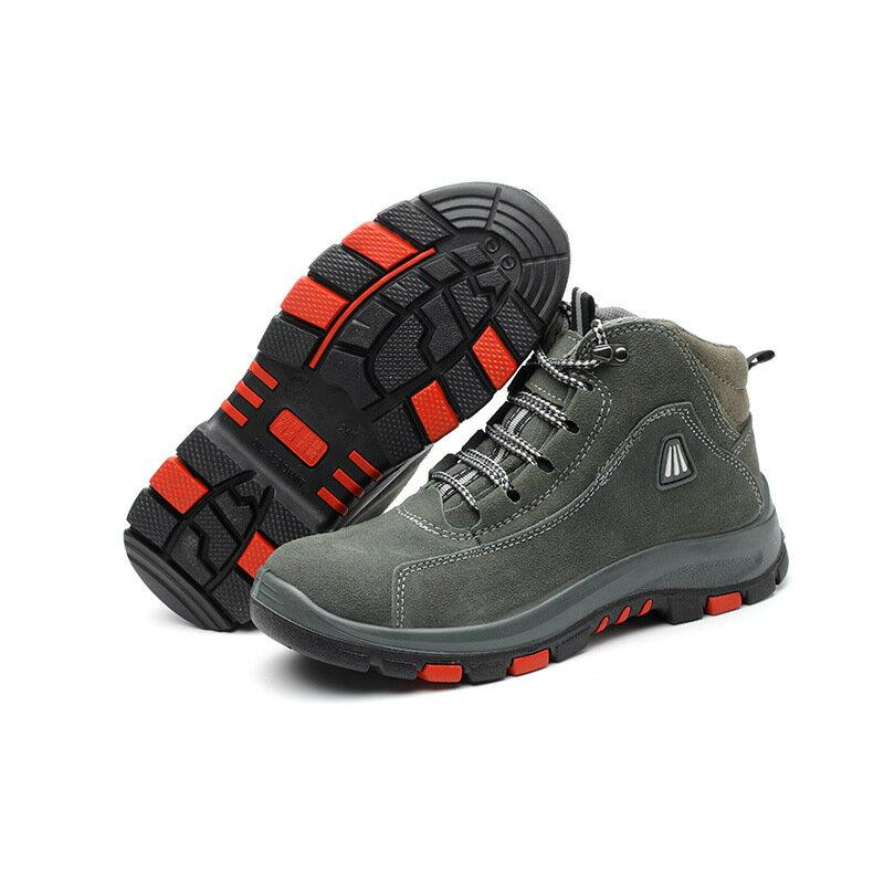 冬季絕緣勞保鞋棉真皮透氣防砸絕緣6kv鋼