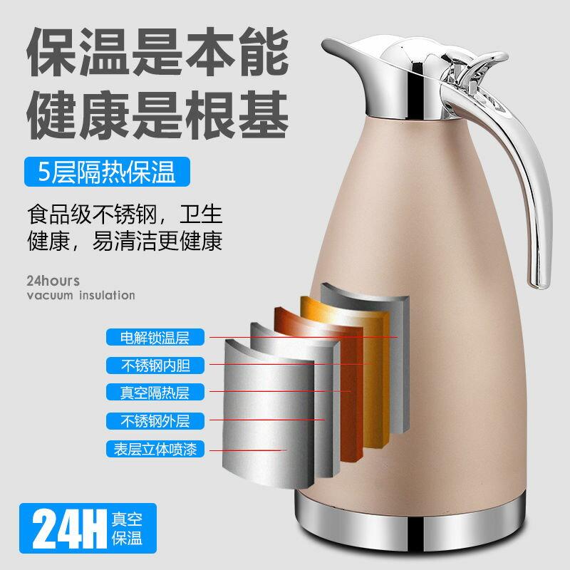 不銹鋼保溫壺家用水壺保溫瓶暖壺暖瓶大容量