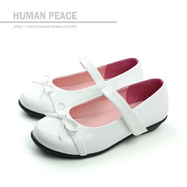 娃娃鞋 白 童 no116