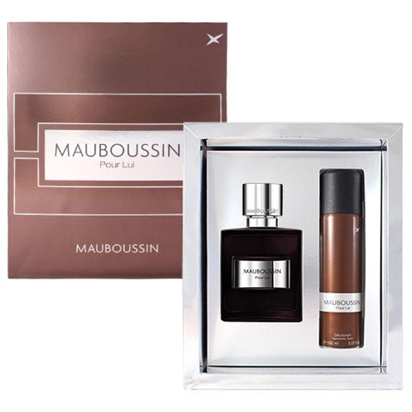 Mauboussin夢寶星PourLui夢寶星絕對男性淡香精禮盒(100ml+150ml噴霧)(96163)《Belle倍莉小舖》