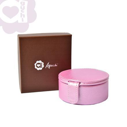 【Aguchi 亞古奇】法式馬卡龍-優雅粉 珠寶盒(玩美精靈系列) 2