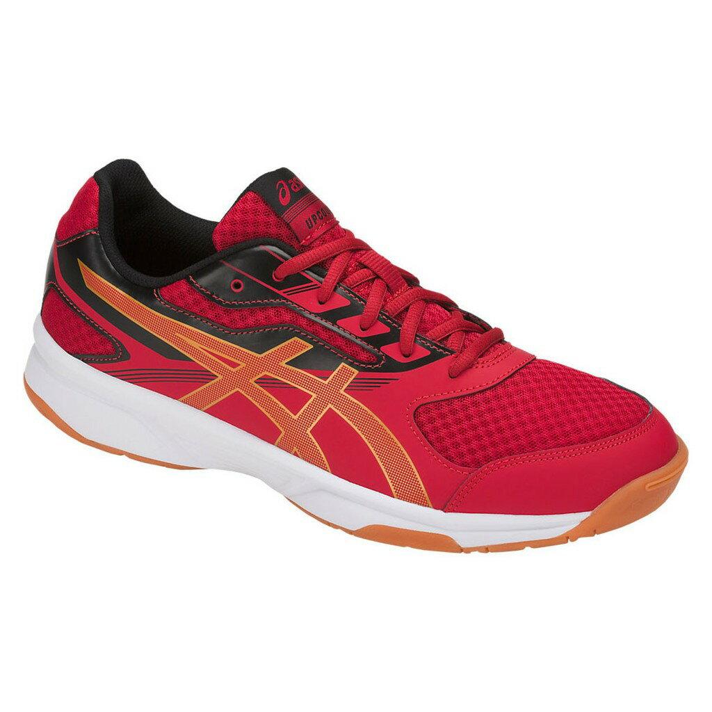 ASICS 18SS 基本款 男女排球鞋 UPCOURT 2系列 B705Y-2394 紅x橘x黑