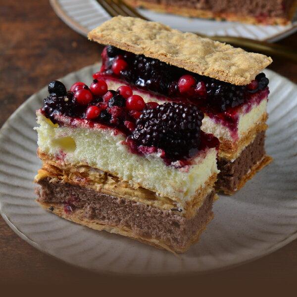 【拿破崙先生】拿破崙蛋糕_繽紛莓果任選二入