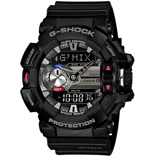 CASIO G-SHOCK GBA-400-1A藍芽流行時尚腕錶/52mm