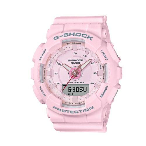 CASIO G-SHOCK/!運動任我行流行腕錶/限定款/GMA-S130-4A