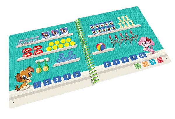 美國 LeapFrog 跳跳蛙 LeapStart Jr. Books幼兒7-數學好好玩 3