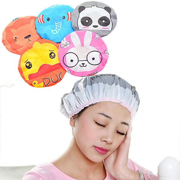 浴帽防水泡湯溫泉沐浴帽鬆緊帶設計適合各種頭型ZE2123