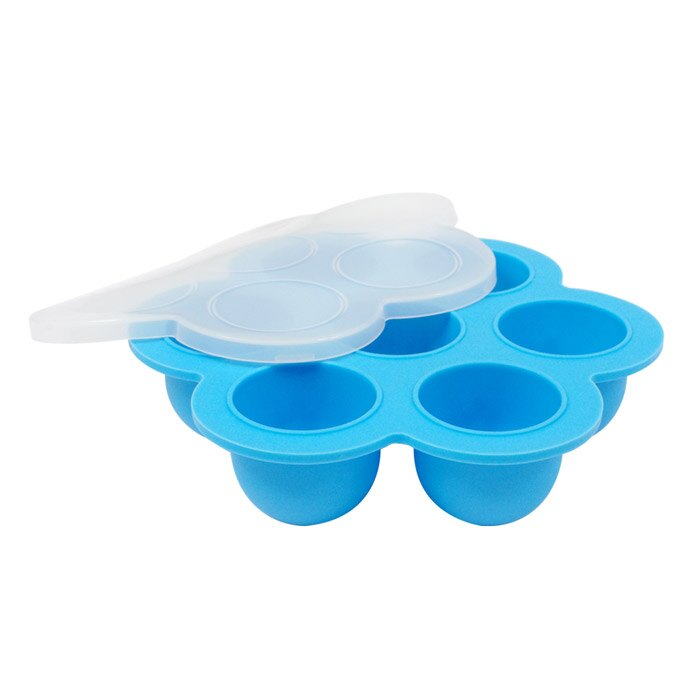 【EG Home 宜居家】七格矽膠製冰分裝盒 2