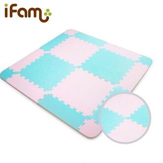 韓國【Ifam】棉花糖EVA拼貼地墊(116x116x2cm)