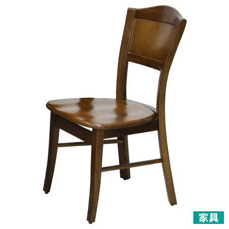 宜得利家居:◎天然木法式餐椅柚木色NITORI宜得利家居