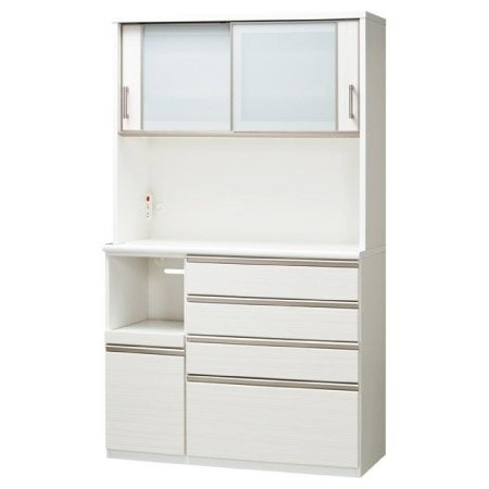 ◎耐蒸氣多機能廚櫃 POSTIA 120KB WH NITORI宜得利家居 5