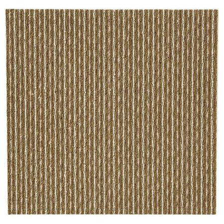 黏著式組合地毯 PONY ST BR 40X40