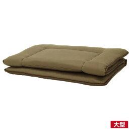 純棉素雅日式床墊 雙人 NITORI宜得利家居