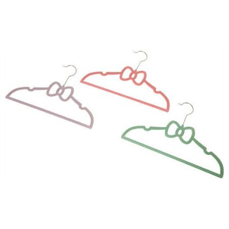 孩童用防滑衣架3件組 N RIBBON