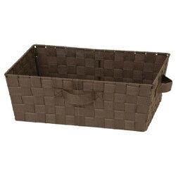 收納盒 TIX DBR 橫式半格型 NITORI宜得利家居