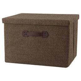 收納盒 BRED DBR 附蓋 NITORI宜得利家居