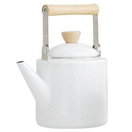 IH琺瑯茶壺A029 WH