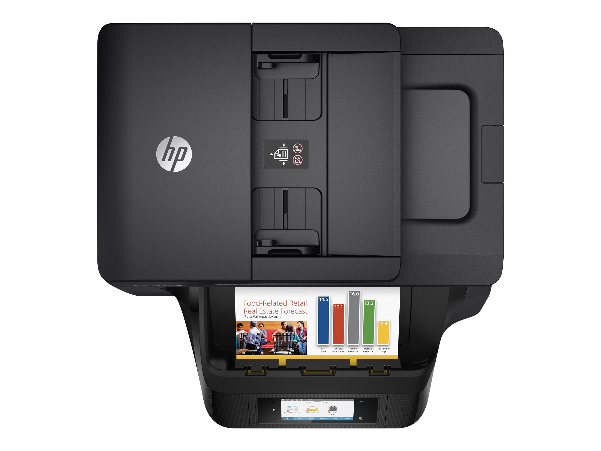 REFURBISHED HP OfficeJet Pro 8720 All-in-One Printer (M9L74AR)
