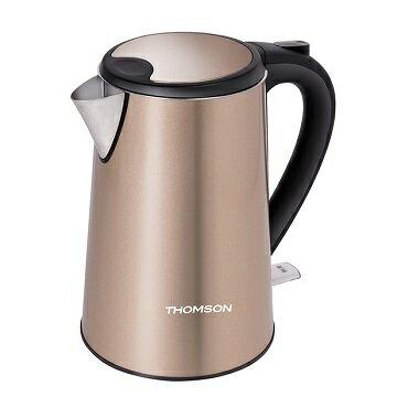 【威利家電】 【分期0利率+免運】THOMSON湯姆盛 304不鏽鋼1.5L雙層不鏽鋼快煮壺 TM-SAK13