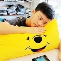 小熊維尼周邊商品推薦美麗大街【105101208】小熊維尼抱枕 娃娃 枕頭 午睡枕