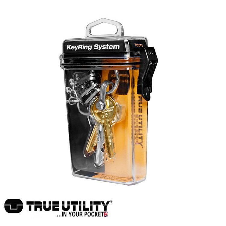 TRUE UTILITY KeyRing System鑰匙圈扣環組  城市綠洲 鑰匙圈、方便