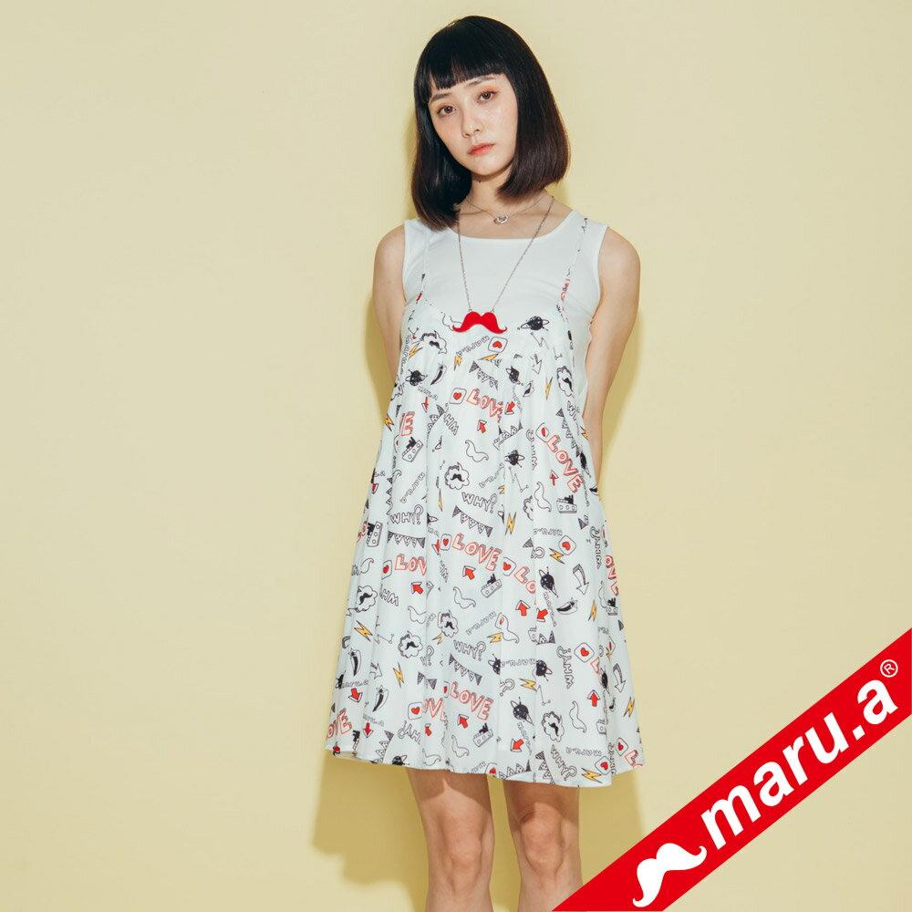 【maru.a】滿版印花洋裝 8317118 3