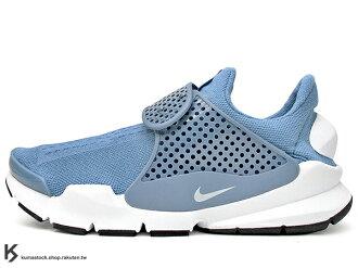 [45%OFF] 2017 NSW 藤原浩 提案設計 重新復刻 NIKE SOCK DART KJCRD 天空藍 青藍 慢跑鞋 HTM 襪子 FRAGMENT (819686-403) !