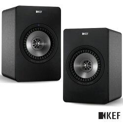 【限時下殺$25990】KEF英國 X300A Wireless 黑色 無線Hi-Fi喇叭 主動式同軸書架喇叭