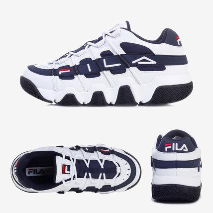 KUMO SHOES-現貨 FILA Barricade XT 97 Low 藍白 老爹鞋 藍色 復古 增高 FS1HTB1054X