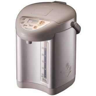 『ZOJIRUSHI』☆  象印 微電腦電動熱水瓶 CD-JUF30 (棕色) **免運費**