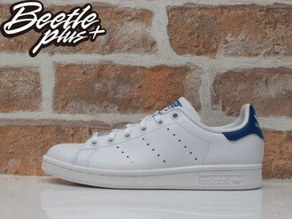 BEETLE PLUS ADIDAS ORIGINALS STAN SMITH 白藍 愛迪達 復古 女鞋 S74778