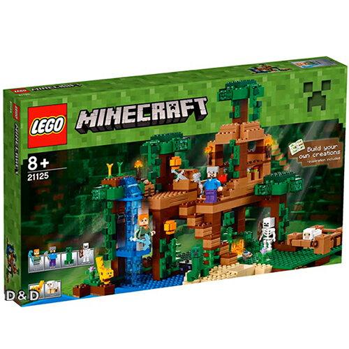 樂高積木 LEGO《 LT21125 》Minecraft Micro World 系列 > The Jungle Tree House