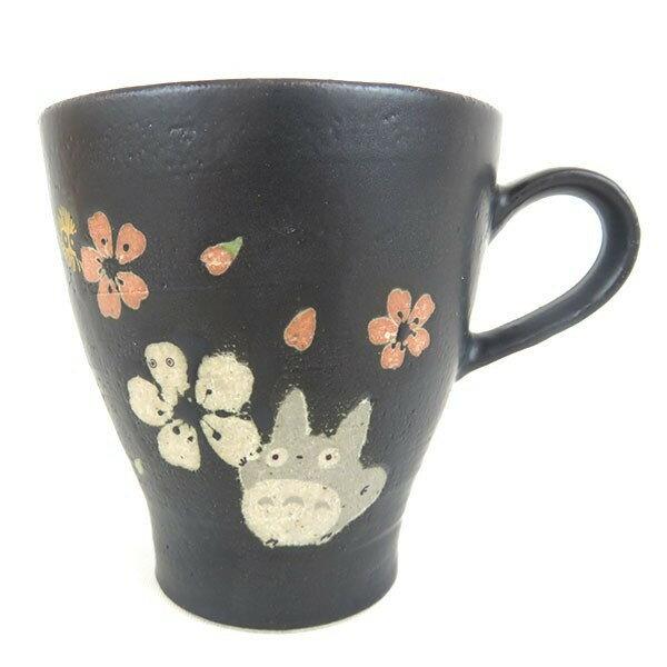 X射線【C308901】龍貓TOTORO 美濃燒陶瓷馬克杯,陶瓷杯/水杯/玻璃杯/茶杯/咖啡杯/交換禮物