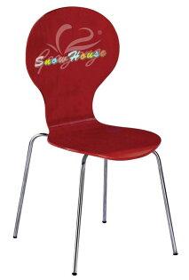 ╭☆雪之屋居家生活館☆╯1024-18-19-20A113電鍍腳漆面造型板造型餐椅