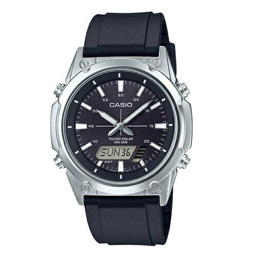 CASIO 卡西歐/太陽能電子簡約腕錶/AMW-S820-1A