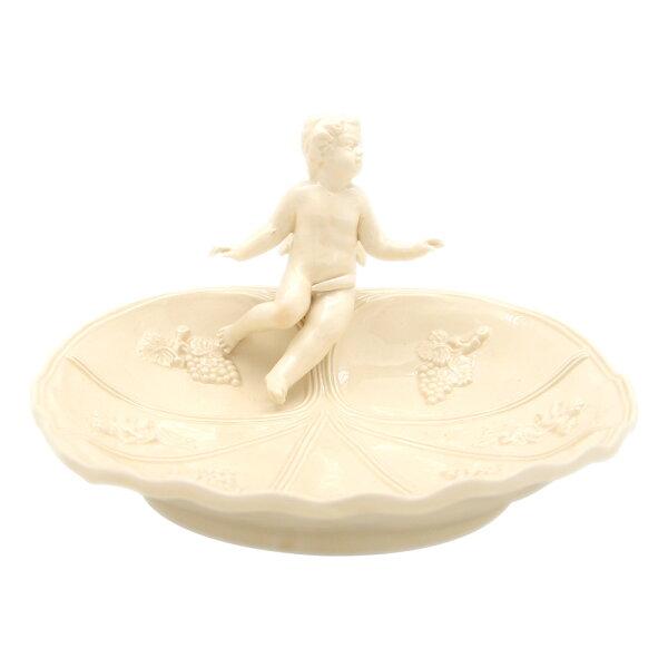 義大利VBCCASA限量手工浮雕系列19cm立體天使造型小皿