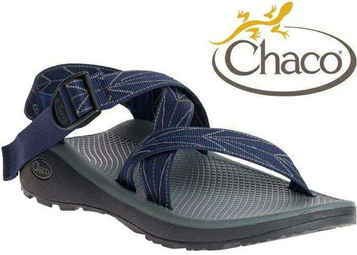 Chaco涼鞋/越野紓壓運動涼鞋/水陸鞋/綁帶涼鞋-標準款 男 美國佳扣 CH-ZLM01 HD01 飛航藍