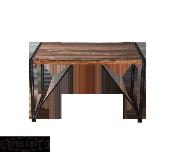 純真年代Opus Loft:復古工業風曼徹斯特環保木餐桌