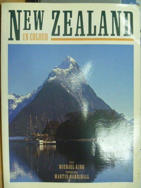 【書寶二手書T2/旅遊_ZHV】New Zealand