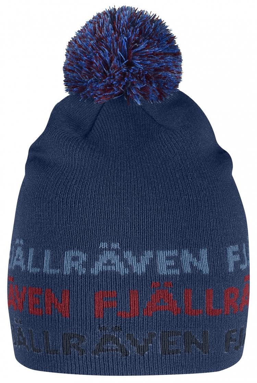Fjallraven 小狐狸 兒童保暖帽/毛帽/休閒帽/針織毛帽/旅遊保暖/滑雪 Ovik 77289 535 藍莓