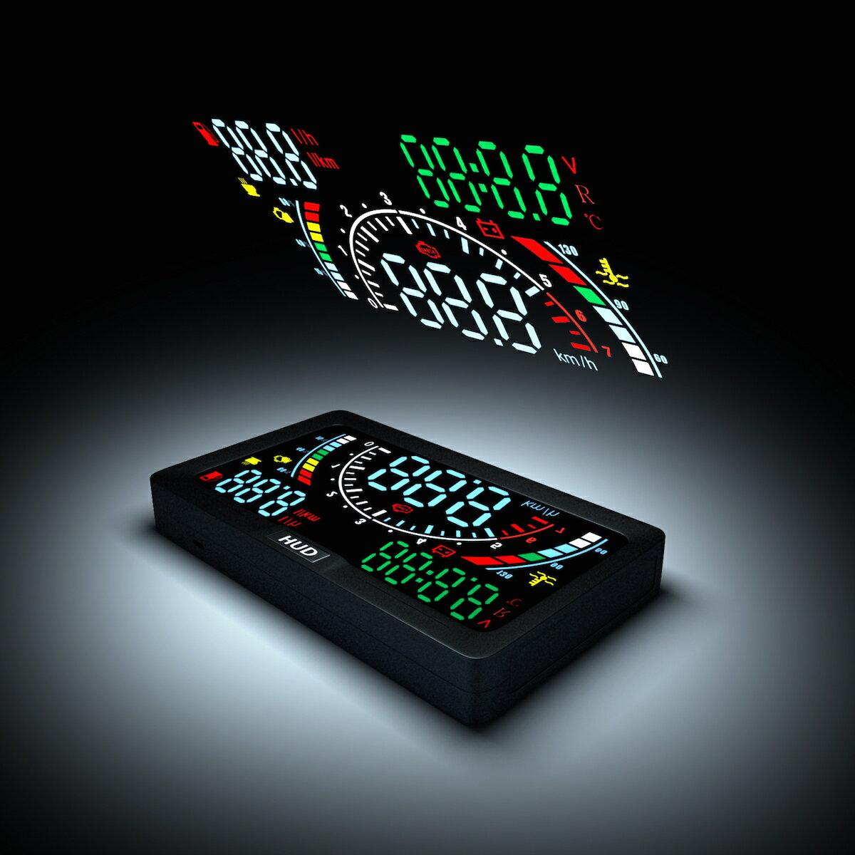 【哈默爾市集】蝴蝶機 HL-A200 OBD2 HUD 多功能抬頭顯示器