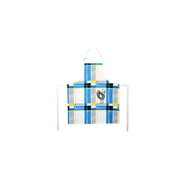 《法國 La Cocotte Paris》廚房的美好時光圍裙 Tartan Bleu Cocotte 1