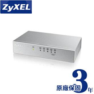 ZyXEL 合勤 ES-105A V3 5埠桌上型高速乙太網路交換器