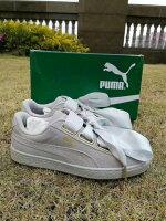 PUMA運動品牌推薦PUMA運動鞋/慢跑鞋/外套推薦到Puma  蝴蝶結  酷灰最耐看配色   女款