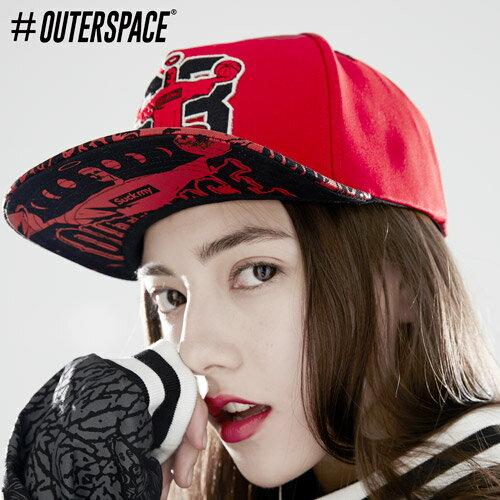 OUTERSPACE 第23號宇宙棒球帽 - 翻玩 耶穌 JORDAN 爆裂紋 兩色 免運