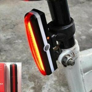 美麗大街【ML106092604】USB充電自行車後燈